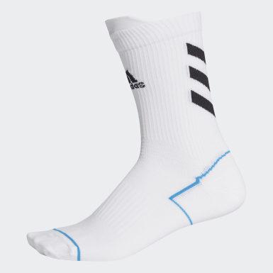Házená bílá Ponožky Alphaskin Primeblue Crew