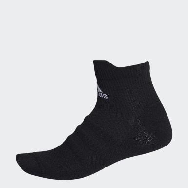 เทรนนิง สีดำ ถุงเท้าหุ้มข้อ Alphaskin