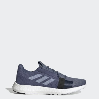 Running Blue Senseboost Go Shoes