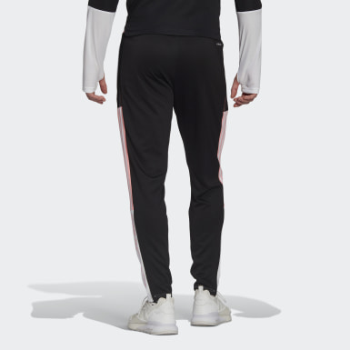 Men Football White Juventus Human Race Training Pants