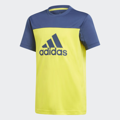 Boys Training Yellow Equipment Tee