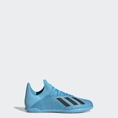 Kids Football Turquoise X 19.3 Indoor Boots