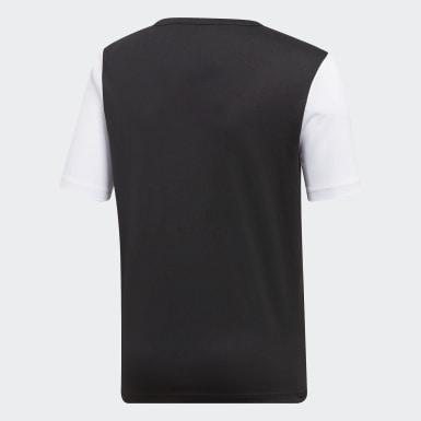 Camiseta Estro 19 Negro Niño Fútbol