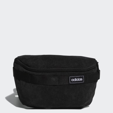 Sport Inspired Black Street Waist Bag