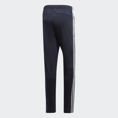 Men's Training Blue Essentials 3-Stripes Tapered Pants