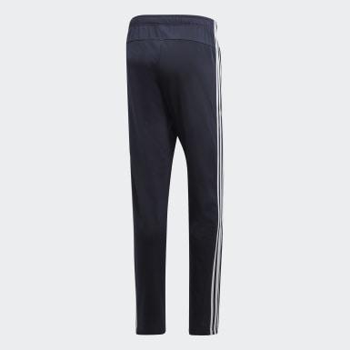 Pants Essentials 3 Franjas Tapered Azul Hombre Running