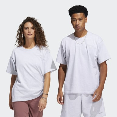 Originals Grey Pharrell Williams Basics Tee (Gender Neutral)