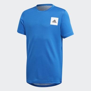 Kluci Joga modrá Tričko AEROREADY