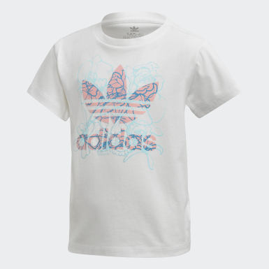 เด็ก Originals สีขาว เสื้อยืด