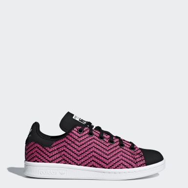 Youth Originals Pink Stan Smith Shoes