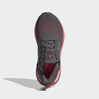 Youth Running Grey Ultraboost 20 Running Shoes