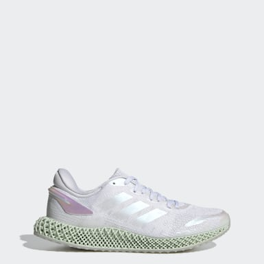 Chaussure 4D Run 1.0 Parley Blanc Running