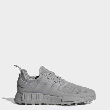 Men's Originals Grey NMD_R1 Trail Shoes