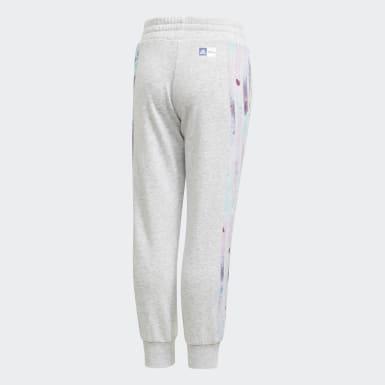 Girls Träning Grå Frozen Pants