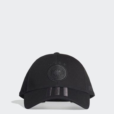 Gorra Alemania Negro Fútbol