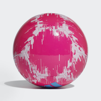 Men's Soccer Pink adidas Glider 2 Ball