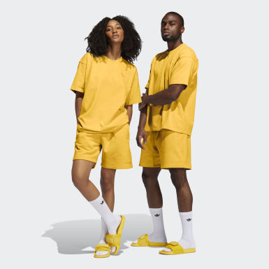 Originals Yellow Pharrell Williams Basics Shorts (Gender Neutral)