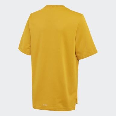 золотой Футболка для фитнеса AEROREADY