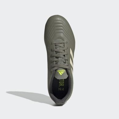 Chaussure Predator 19.4Multi-surfaces Vert Garçons Football