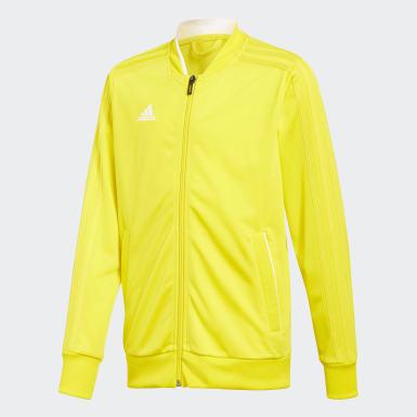 Παιδιά Ποδόσφαιρο Κίτρινο Condivo 18 Jacket