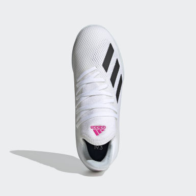 Children Soccer White X 19.3 Indoor Shoes