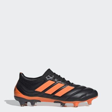 Men Soccer Black Copa 20.1 Firm Ground Boots