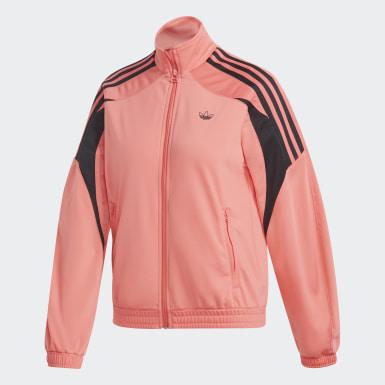 Ženy Originals červená Sportovní bunda