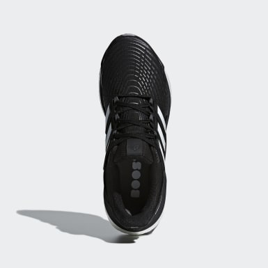 Men Running Black Energy Boost Shoes
