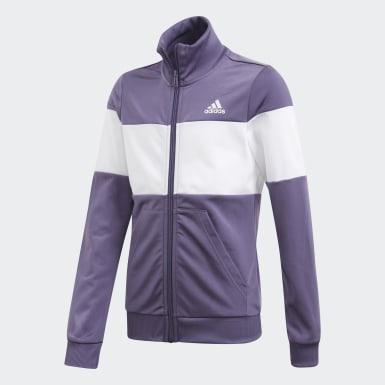 Pants Con Sudadera Yg Pes Ts Violeta Niña Sport Inspired