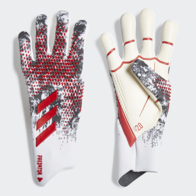 Football White Predator 20 Pro Manuel Neuer Goalkeeper Gloves