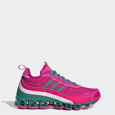 Women Originals Pink Microbounce T1 Shoes