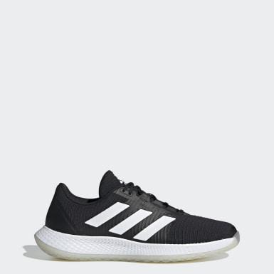 Netbal zwart ForceBounce Handbalschoenen