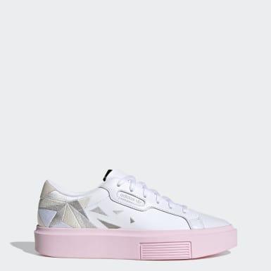 Ženy Originals biela Tenisky adidas Sleek Super