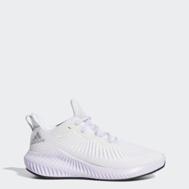 Tenis Alphabounce+ Blanco Mujer Running