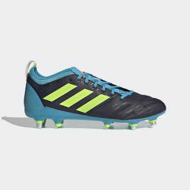 Chaussure Malice Elite Terrain gras Bleu Rugby