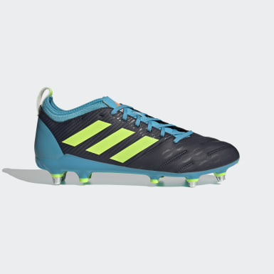 Rugby Blue Malice Elite Soft Ground Boots