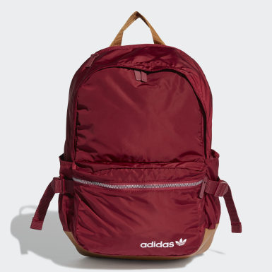 Originals Burgundy Premium Essentials Modern Backpack