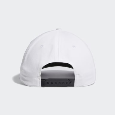 Men Golf White Adicross Bold Stripe Hat