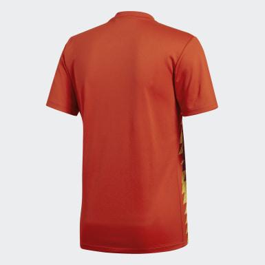 Heren Voetbal Rood Spanje Thuisshirt