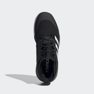Netball Black Court Team Bounce Indoor Shoes