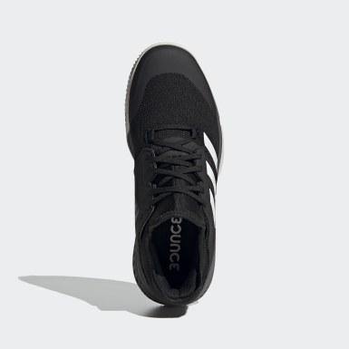 Netball Svart Court Team Bounce Indoor Shoes