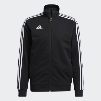 Men's Soccer Black Tiro 19 Training Jacket
