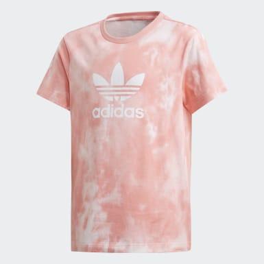 Kids Originals Pink Tie-Dye Boyfriend Tee