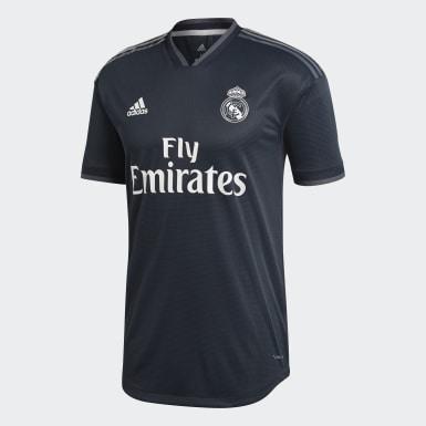 Camisola Alternativa Oficial do Real Madrid Preto Homem Futebol