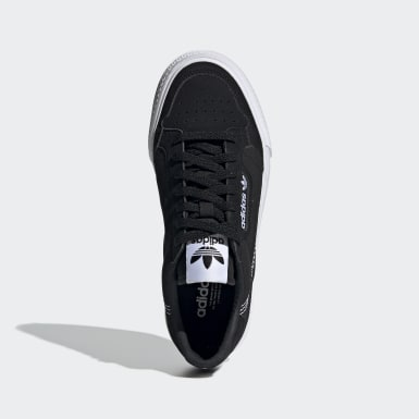 Kids Originals Black Continental Vulc Shoes