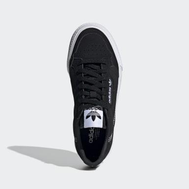 Børn Originals Sort Continental Vulc sko