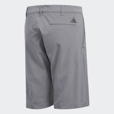 Jongens Golf grijs Solid Golf Short
