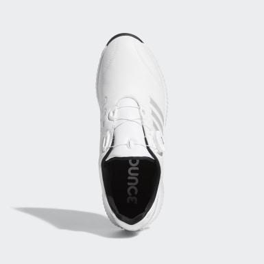 Women's Golf White Response Bounce Boa Shoes
