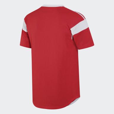 красный Футболка RFU H JSY P