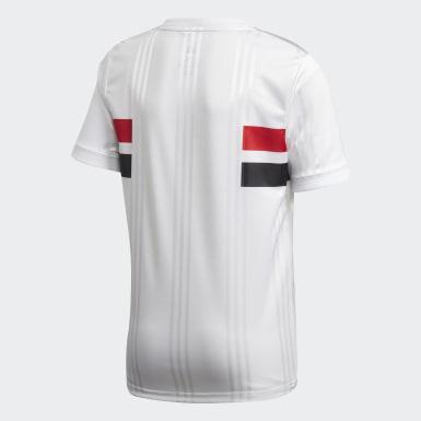 Camisa São Paulo FC 1 Branco Meninos Futebol